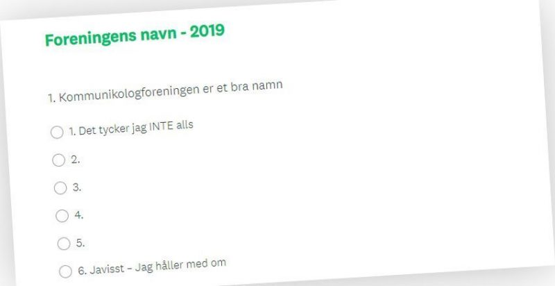 Nyhetsbrev #2 2019: Revison av Fackdockumentation | Enkät till medlemmar | Program for kongressen i Arvika